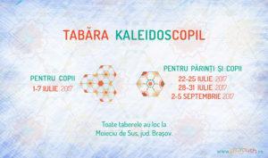 Tabara Kaleidoscopil copii si parinti 2017