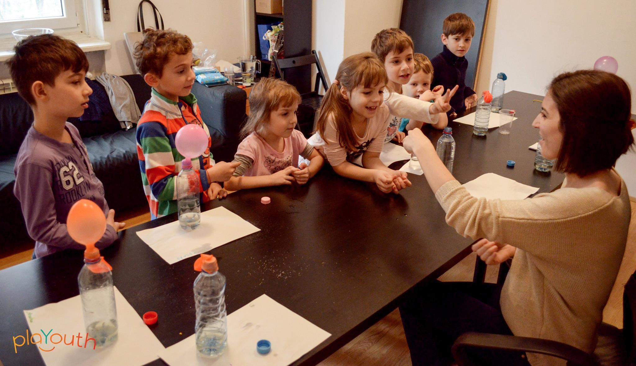 Primul nostru atelier de Chimie Distractivă