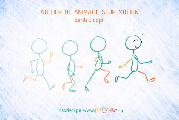Atelier animatie stop motion pentru copii