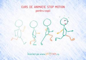 Curs de animatie stop motion pentru copii