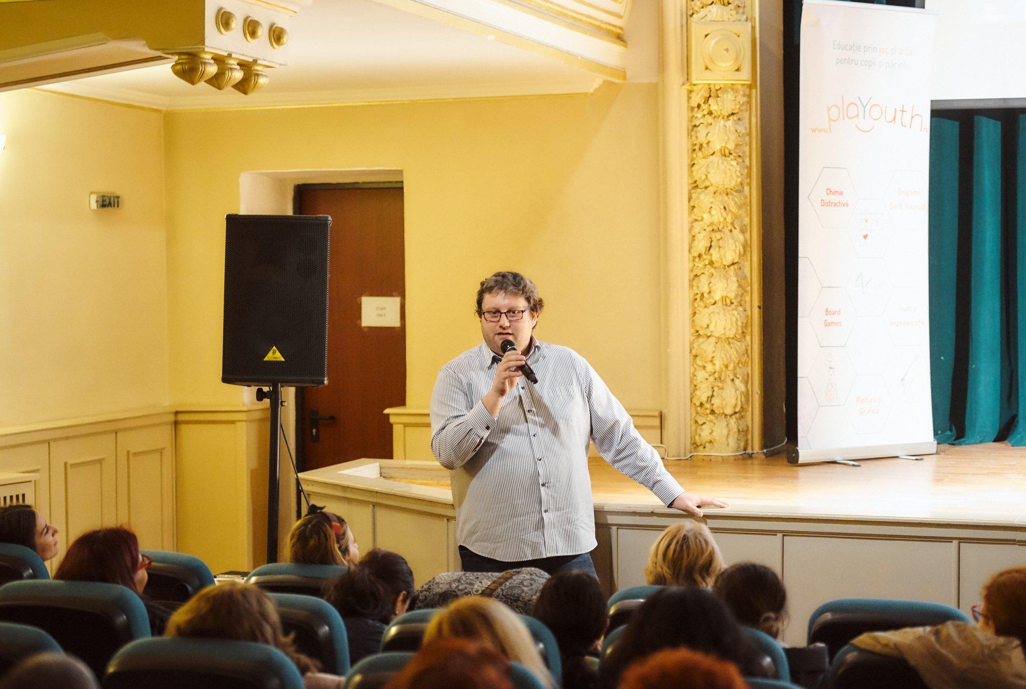 Interviu cu un profesor carismatic – Doru Căstăian