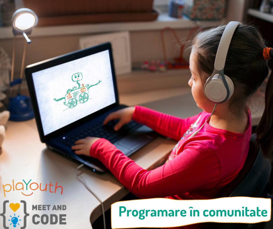 Programare în comunitate – cu Meet and Code