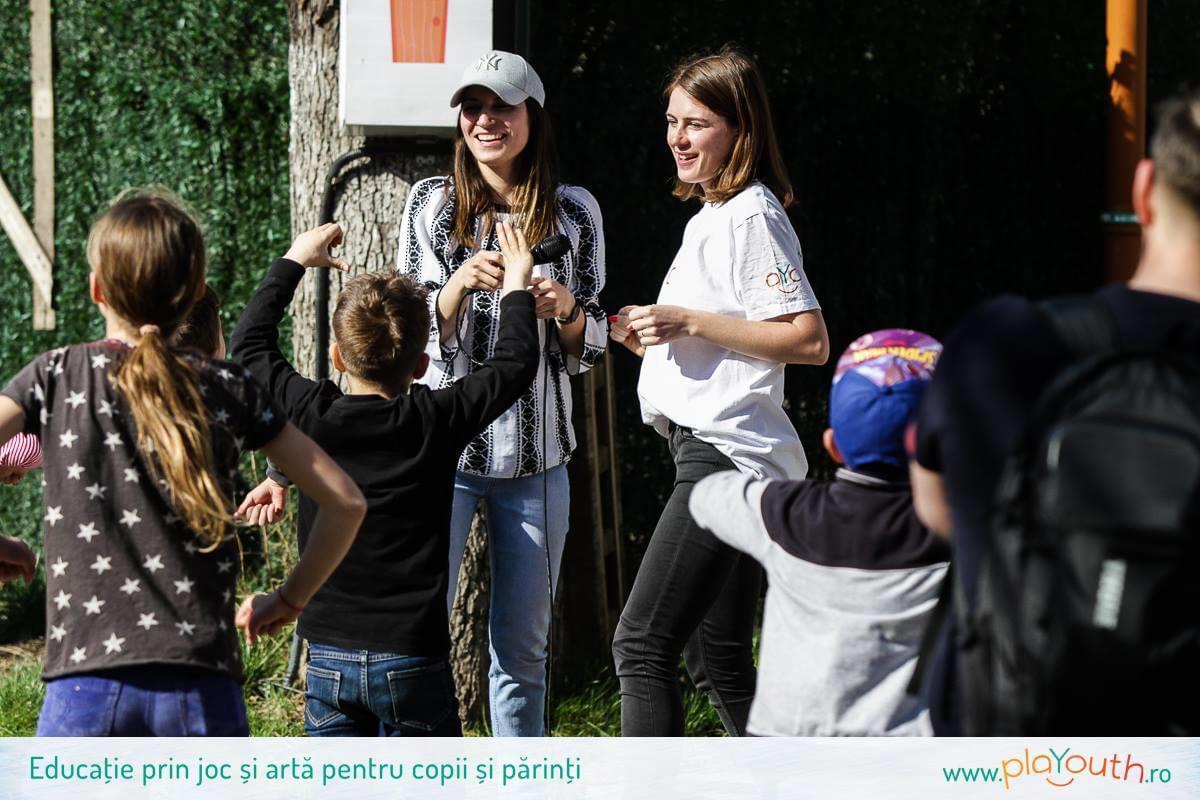 Gabriela aniversează trei ani în echipa PlaYouth